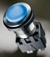 Pushbutton Switch has metal housing, rugged ceramic actuator.