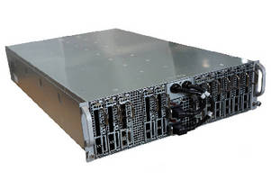 Multi-Node Server utilizes quad-core processors.