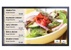 Digital Signage Display complies with OPS.