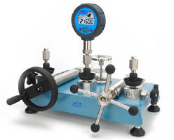 Pressure Gauges and Calibrators offer extended pressure range.