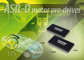 Motor Pre-Driver IC targets automotive safety applications.
