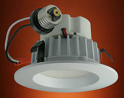 Recessed LED Ceiling Downlights replace 75 W halogen bulbs.
