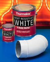 Heat Resistant White Paint resists yellowing up to 1,200F.