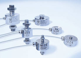 Miniature Force Transducers deliver 0.2% accuracy.