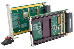 Rugged 3U VPX Carrier Cards aid PMC or XMC integration.