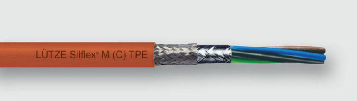 Motor Supply Cable features oil-resistant TPE jacket.