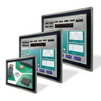 Touch Panel PCs feature die-cast aluminum housing.
