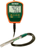 Waterproof Palm pH Meter has ruggedized, handheld design.