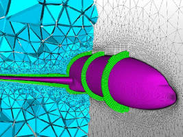 CFD Meshing Software generates layers of hexahedral cells.
