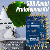 SDR Rapid Prototyping Kit supports MIMO wireless transceivers.