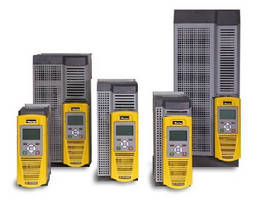 Variable Frequency Drives  cover 1-100 hp range.