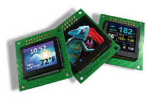 OLED Displays feature 262 K colors.