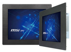 All-In-One Touchscreen HMI Panel PC features IP65 front bezel.