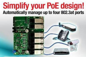 PSE Controller, Module, and Design accelerate PoE development.