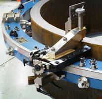 Tool Slides and Tooling machine large diameter parts.