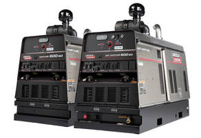 Welders/Generators are driven by T4F-compliant diesel engines.