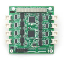 RS-232/422/485 PCIe/104 Serial Port Module offers opto-isolation.