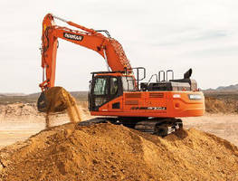 Crawler Excavators meet Tier 4 emissions regulations.