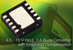 Integrated Synchronous Buck Regulator enables design simplicity.