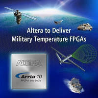 FPGA and SoC Devices comply with military temperature specs.