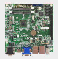 Mini-ITX SBC offers choice of three 2nd Gen AMD SoC processors.