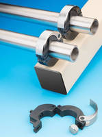 Hinged Shaft Collars accelerate pipe and tube changes.