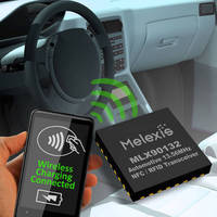 Wireless Charging/NFC Reference Design is automotive ready.