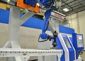 Overhead Robot Tracks support speeds up to 2.5 m/sec.