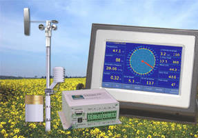 Modular Weather Station allows for 4-20 mA signal output.