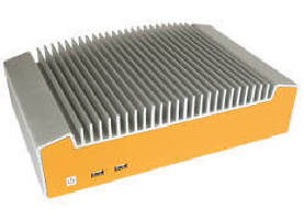 Industrial PCs feature fanless, ventless design.