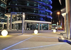 Continuous Linear LED Lighting Strips can repurpose any space Linear LED Lighting Strips can repurpose any space . Inground Linear Led Lighting. Home Design Ideas