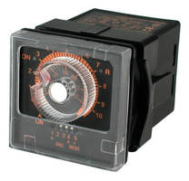 ON-Delay Interval Timer (1/16 DIN) provides multifunction support.