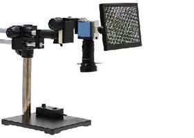 Video Inspection System helps eliminate eye strain.