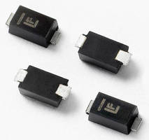 Low-Profile 400 W TVS Diodes protect sensitive electronics.