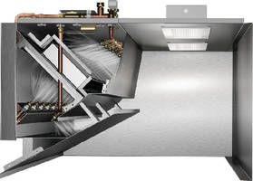 Self-Cleaning Hood System drastically reduces grease build-up.