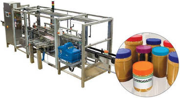 Inline Hot Melt Labeler accelerates changeover with less parts.