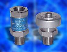 Relief Valves suit low-pressure applications.