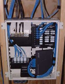 structured cabling system suits residential applications. Black Bedroom Furniture Sets. Home Design Ideas
