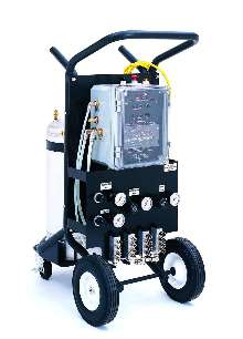 Spray Control System Applies Lubricants And Coatings