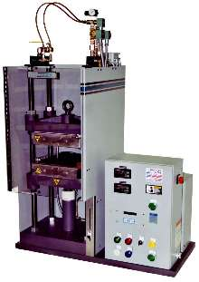 Hydraulic Compression Press suits ASTM test sample molding.