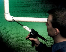 Pipe Sealant forms flexible bonds.