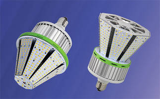 Conical LED Post Lamps eliminate light loss due to reflection and redirection.