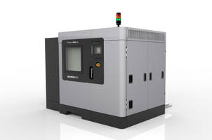 Stratasys Fortus 900mc 3D printer uses engineering-grade thermoplastics.