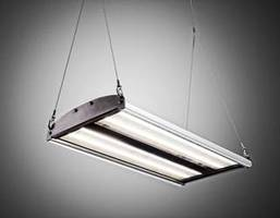 LED High Bay Luminaire for mounting heights of 20' and above.