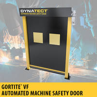 Gortite® VF Automated Machine Safety Door comes with standard proximity switches.