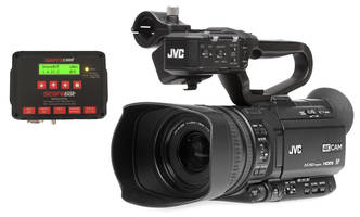 GY-HM200SP Sports Production System comes with GY-HM200 4KCAM camcorder.