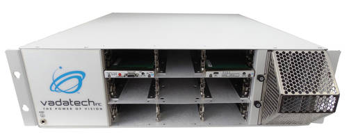 VT884 MicroTCA Chassis comes with customizable backplane.
