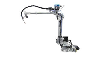 Robot Arm eliminates need for additional motion axis help.