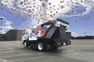 SuperVac Vortex Sweeper comes with Isuzu NPR Gas chassis.