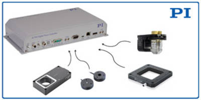 E-754 Nano Positioning Controller features 20-bit analog command interface.